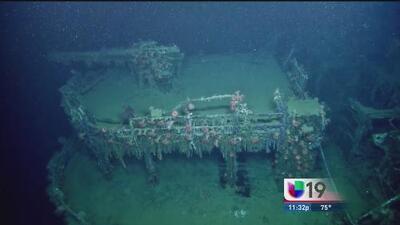 Fotografían un submarino alemán en el Golfo de México