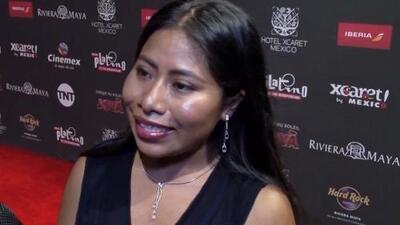 """""""No doy una con el inglés"""": Yalitza Aparicio admite que la barrera del idioma no la hace sentir tan cómoda"""