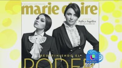 Angélica Rivera de Peña y Sofía Castro posan para revista