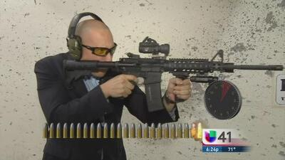 Rifle AR15, el más común en las masacres de EEUU