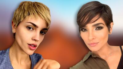Eiza González le sigue los pasos a Alejandra Espinoza y cambia radicalmente de look