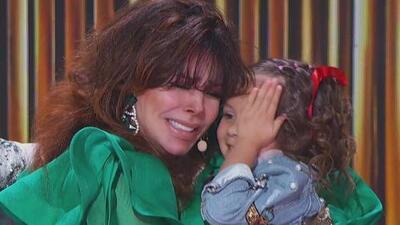 Verónica Castro enseña a llorar a Danna para que logre ganarse los puntos de 'Gali dice'