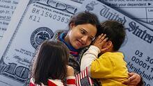 Padres indocumentados en Houston pueden recibir el cheque de $1,400 si cumplen con estos requisitos