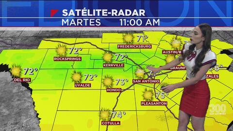 San Antonio tendrá un martes cálido con viento