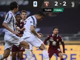 Cristiano Ronaldo evita derrota de la Juventus ante Torino y rescata puesto de Champions
