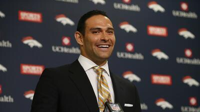 Mark Sánchez: Mi meta es ser el quarterback titular Broncos en 2016