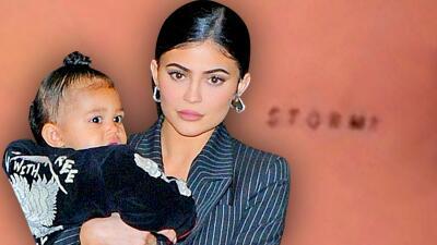 Con un tatuaje Kylie Jenner le rinde homenaje a Stormi (y ya sabemos en qué parte del cuerpo lo tiene)