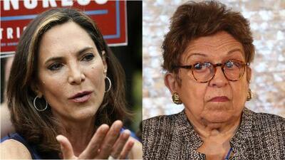 Choque entre María Elvira Salazar y Donna Shalala por supuesto mensaje de apoyo de Álvaro Uribe