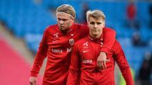 Para Haaland, Odegaard acertó con irse del Real Madrid