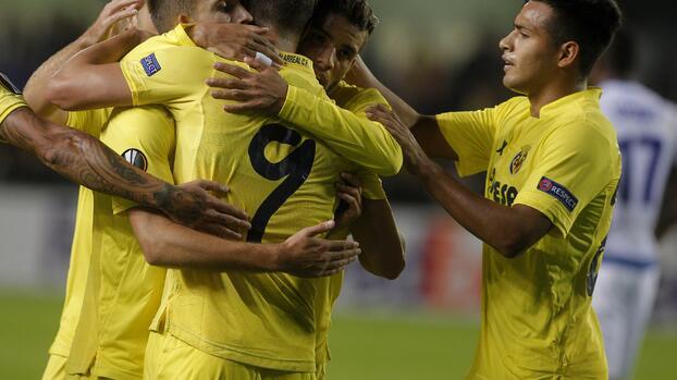 Soldado propicia la remontada del Villarreal que casi amarra su pase en Europa League