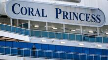 Muere de coronavirus un tercer pasajero del crucero Coral Princess anclado en el puerto de Miami