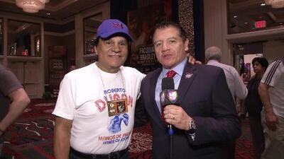 Roberto 'Manos de Piedra' Durán no ve a Pacquiao en el retiro