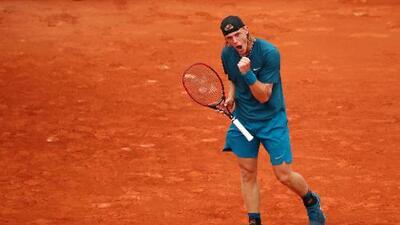Promesa de 19 años ganó su primer partido en Roland Garros