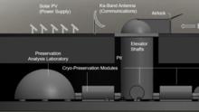 Un 'arca de Noé' lunar para mantener seguras muestras de esperma de todas las especies vivas