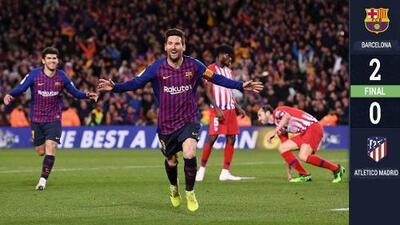 ¡Campeonato amarrado! Barcelona derrota al Atlético de Madrid y marca distancia
