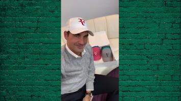 Así anunció Roger Federer que 'recuperó' su logo