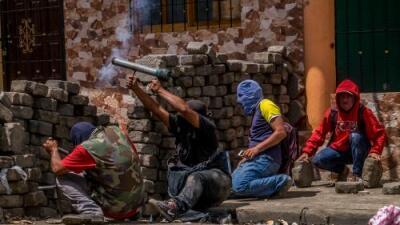 La Nicaragua rebelde entre barricadas y balas