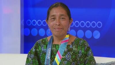 Esta atleta hace historia al convertirse en la primera indígena maya en participar en la Maratón de Los Ángeles