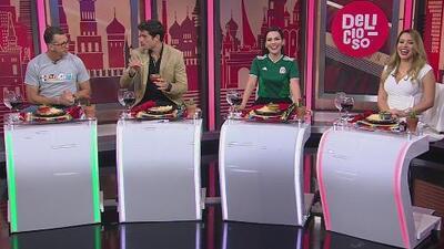 Entre un delicioso sikil pak, los expertos analizaron el triunfo de México 1-0 sobre Alemania
