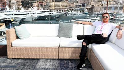Canelo, el Príncipe de Mónaco: el mexicano fue una de las celebridades en la Pole