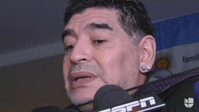 """Maradona sobre la muerte de Fidel Castro: """"Me agarró un llanto terrible, fue como mi segundo padre"""""""
