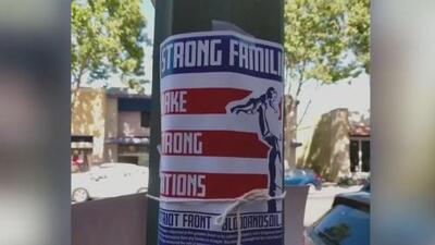 Carteles con mensajes antiinmigrantes han aparecido en varias ciudades del área de la bahía