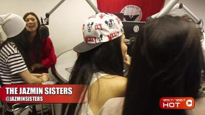 Video: Jazmin Sisters in studio with Chuy Gomez