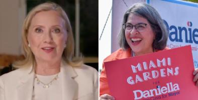 Hillary Clinton respalda a Daniella Levine Cava para la alcaldía de Miami-Dade