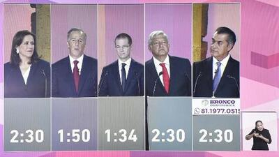 Así se vivió el agitado primer debate presidencial en México