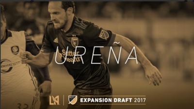 El mundialista costarricense Marco Ureña seleccionado por el LAFC de Carlos Vela