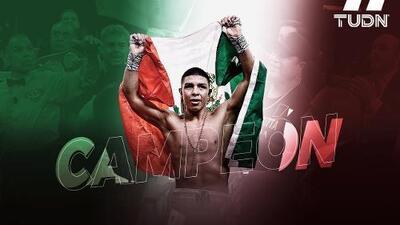¡Viva México! Jaime Munguía detuvo a Allotey en cuatro rounds