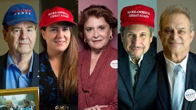 Hispanos con Trump: en Florida le siguen siendo fieles un año después de la elección