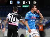 Chucky marcó en triunfo de Napoli y es el quinto mexicano con más goles en Europa