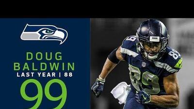 #99 Doug Baldwin (WR, Seahawks) | Top 100 Jugadores NFL 2018