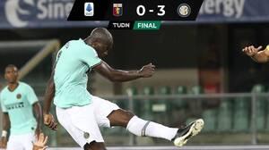 Inter de Milán golea a domicilio al Genoa