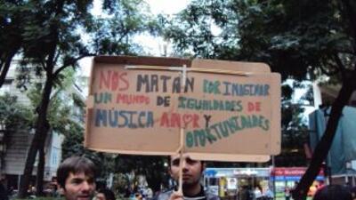 Salen del penal los 11 detenidos tras las protestas del 20 de noviembre en México
