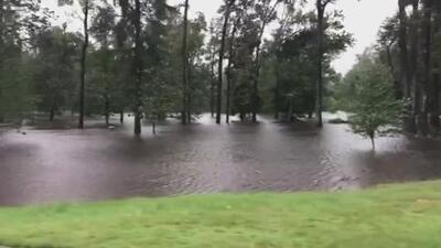 Florence ha dejado inundaciones en carreteras, parques y caos en Goldsboro