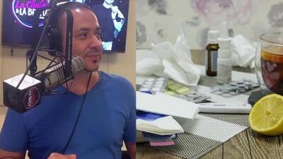 Pancho es inocente: el locutor no tiene la culpa que sea delicadito con la gripa