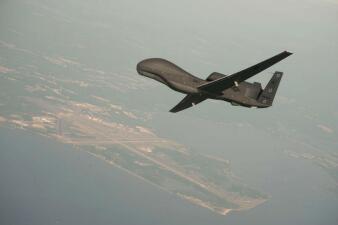En fotos: Así son los drones de vigilancia de EEUU y te mostramos cómo quedó el que Irán derribó