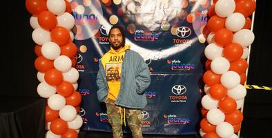Miguel charms fans in the Uforia Lounge