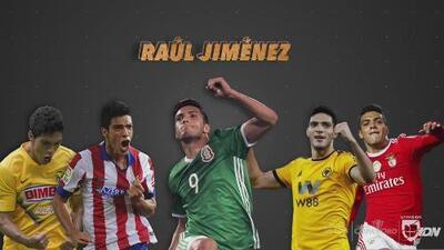 Raúl Jiménez y una historia que ha sido como 'miel sobre hojuelas' al llegar a los 100 goles
