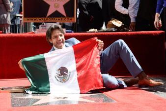 Latinos con su propia estrella en el paseo de la fama de Hollywood
