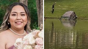 """""""Condolencias a la familia"""": Hallan el auto de madre hispana desaparecida en Texas"""