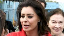 Yadhira Carrillo reacciona al embargo de 83,1 millones de dólares a su esposo Juan Collado