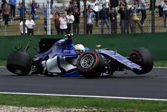Duro choque y sorpresas en la clasificación del Gran Premio de China en Fórmula 1