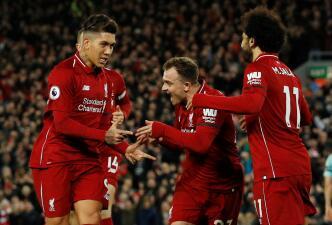 En fotos: festival de fútbol y goles del Liverpool que fue imparable ante el Arsenal