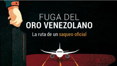 La ruta de un saqueo oficial: así saca el gobierno de Maduro el oro de Venezuela para conseguir divisas