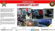 Policía de Cicero alerta a la comunidad sobre una ola de robos a mano armada