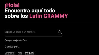 Todos los ganadores de los Latin GRAMMY: usa nuestro buscador para conocer la historia de estos premios