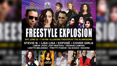 Enter to win tickets to Freestyle Explosion